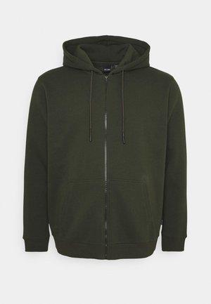 ONSCERES LIFE ZIP HOODIE - Zip-up sweatshirt - forest night