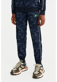 WE Fashion - Tracksuit bottoms - dark blue - 1