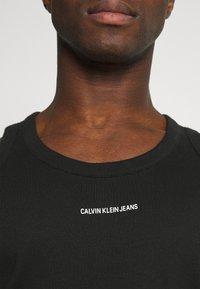 Calvin Klein Jeans - MICRO BRANDING TANK - Top - black - 4