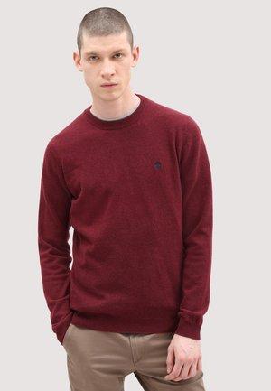 COHAS BROOK MERINO  - Stickad tröja - syrah