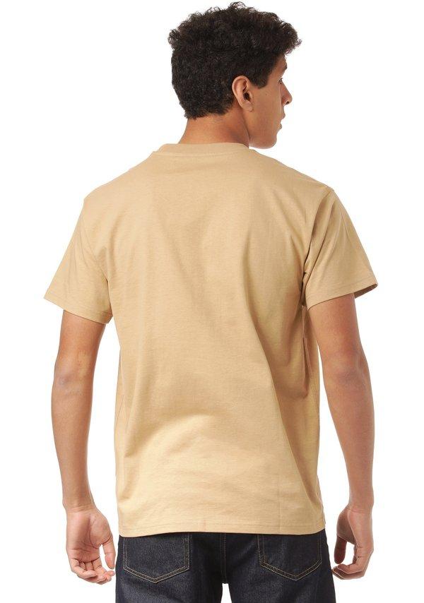 Carhartt WIP T-shirt basic - dusty h brown/brązowy Odzież Męska KMJH