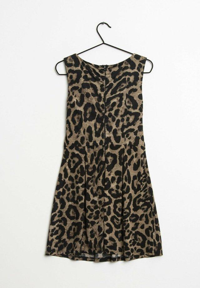 Korte jurk - brown