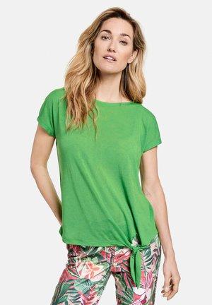 MIT KNOTENDDETAIL - Print T-shirt - botanical