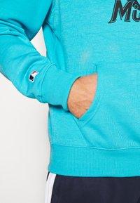 Fanatics - MLB MIAMI MARLINS HOODIE - Klubové oblečení - blue - 4