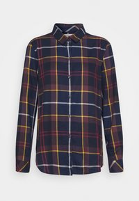 Barbour - MOORLAND SHIRT - Button-down blouse - navy - 0