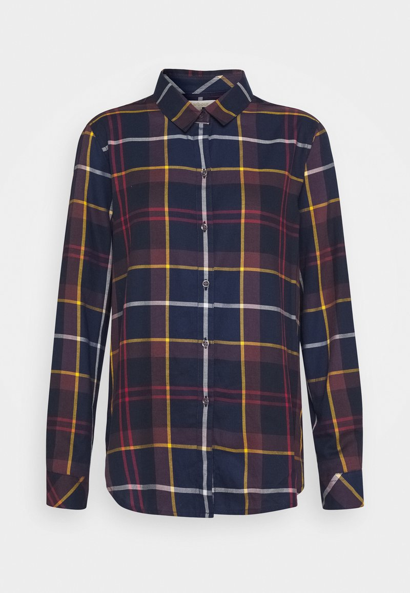Barbour - MOORLAND SHIRT - Button-down blouse - navy
