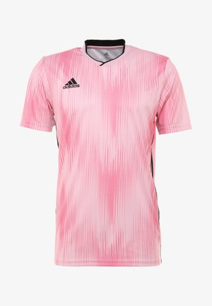 T-shirt con stampa - pink/black