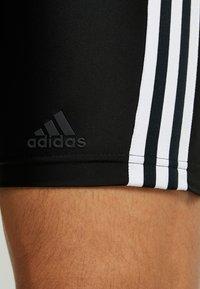 adidas Performance - FIT JAM  - Szorty kąpielowe - black/white - 3