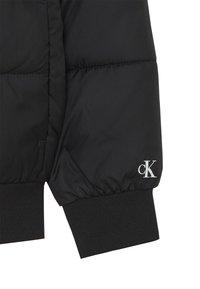 Calvin Klein Jeans - COLOUR BLOCK PUFFER JACKET - Winter jacket - black - 2