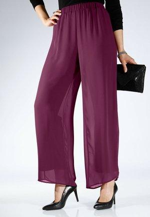 Trousers - brombeere