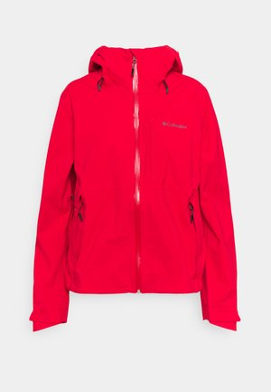 OMNI-TECH™ AMPLI-DRY™ SHELL - Hardshell jacket - bright red