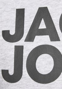 Jack & Jones - JJECORP LOGO HOOD - Hoodie - light grey - 5