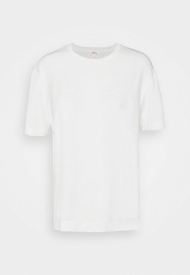 KURZARM - Camiseta básica - off-white