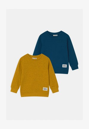 NMMVAN 2 PACK - Sweatshirt - dark sapphire/golden rod