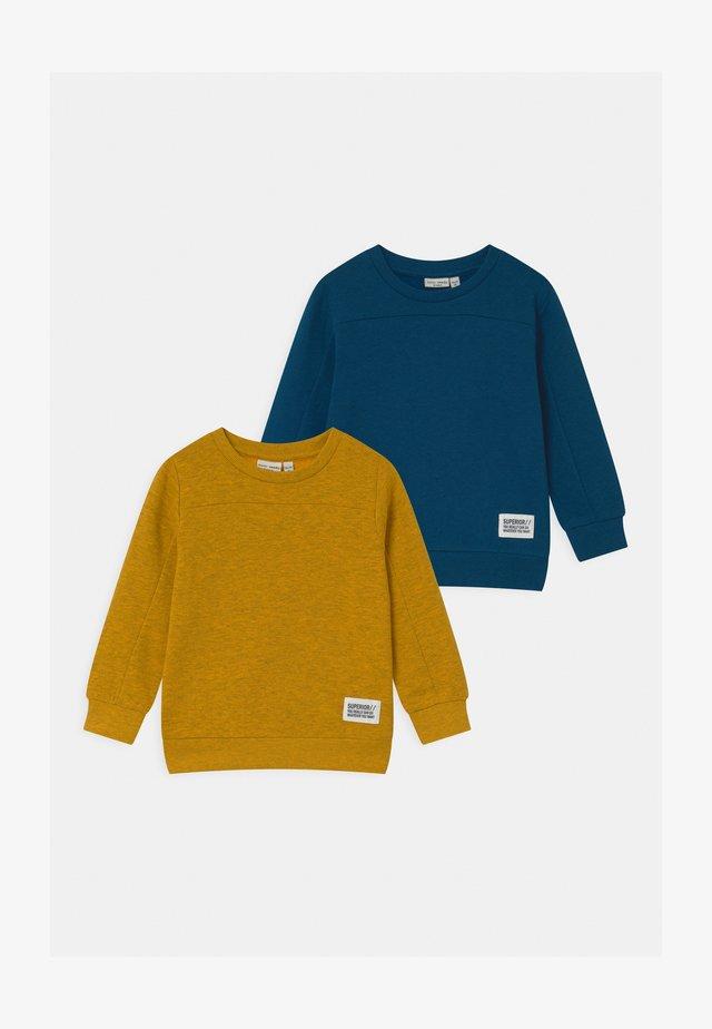 NMMVAN 2 PACK - Sweater - dark sapphire/golden rod
