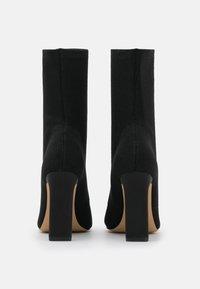 ALDO - DELYLAH - High heeled ankle boots - black - 3