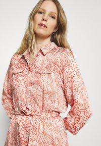 Expresso - DELPHINE - Shirt dress - coral - 3