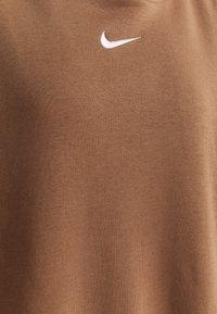 Nike Sportswear - HOODIE - Hoodie - archaeo brown/white - 2