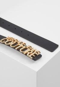 Versace Jeans Couture - BELT LETTERING - Pásek - nero - 1
