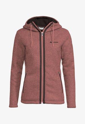 Fleece jacket - dusty rose
