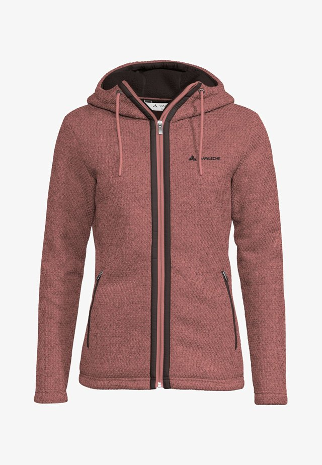 Fleece jacket - dusty rose