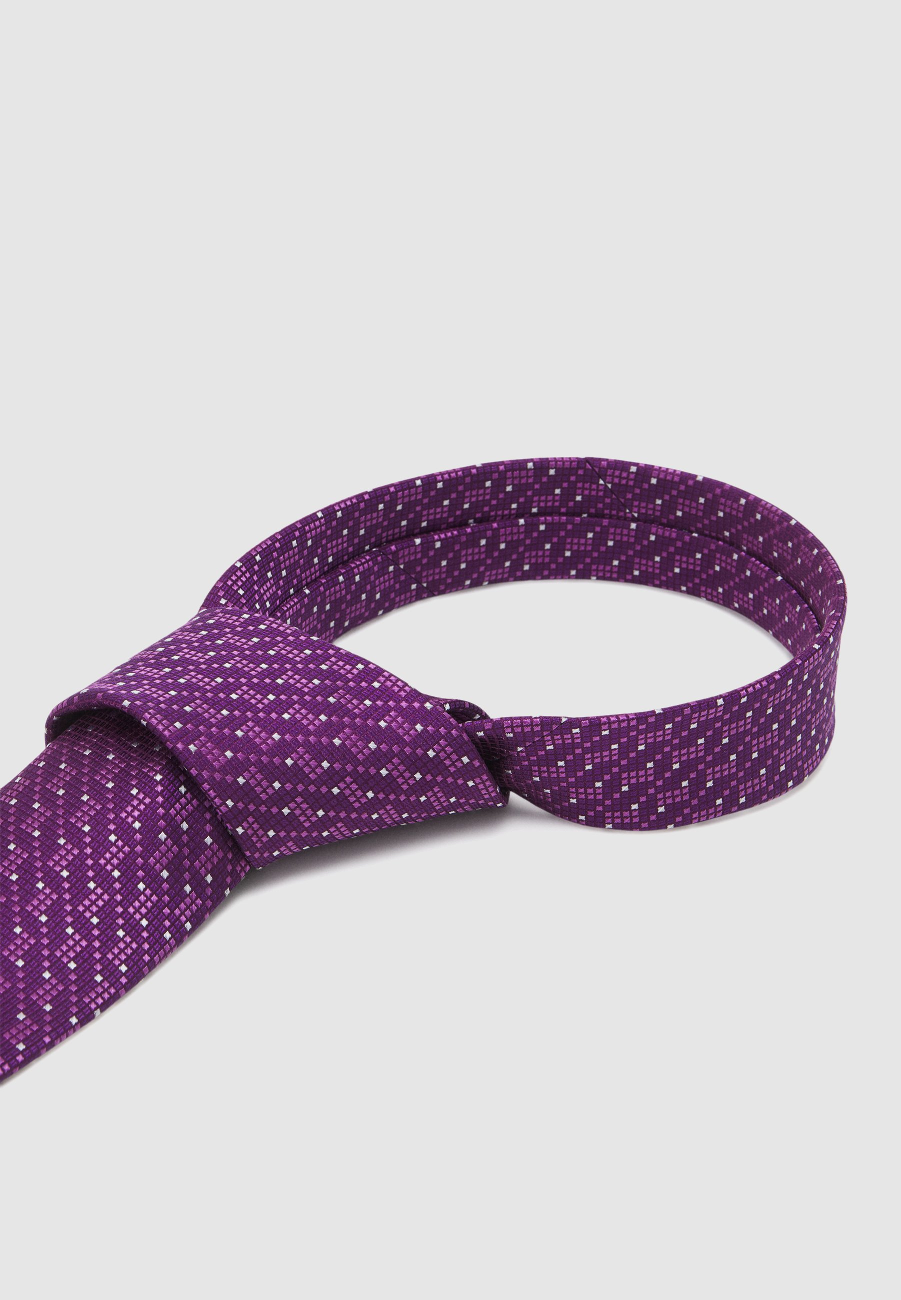 Men SMALL CONNECTED SQUARES - Tie