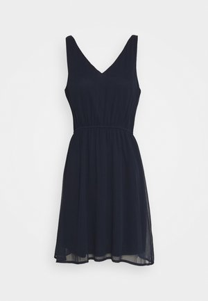 VMWONDA NEW SINGLET SHORT DRESS - Denní šaty - navy blazer