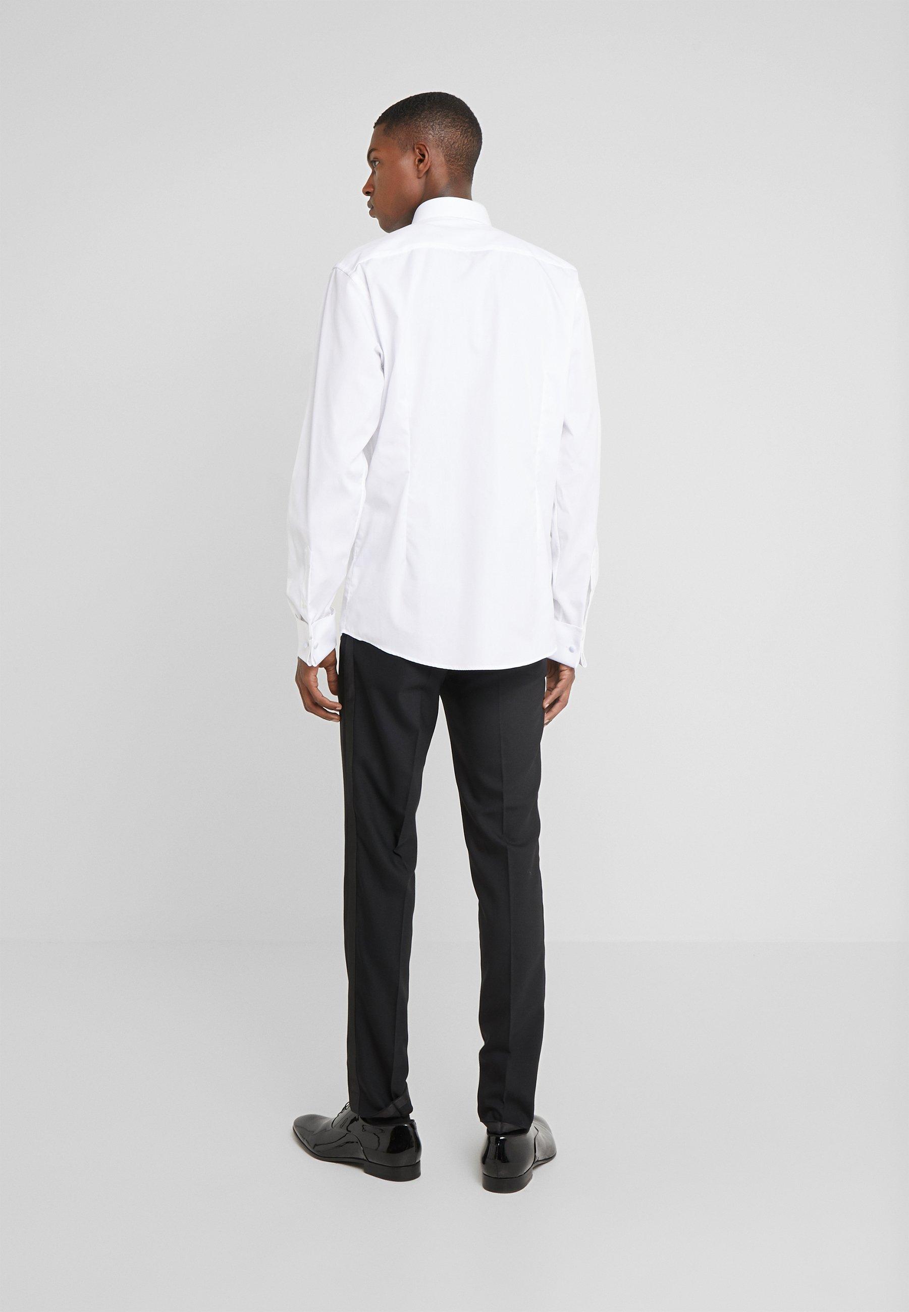 Yksinomainen Miesten vaatteet Sarja dfKJIUp97454sfGHYHD Eton SLIM FIT Kauluspaita white