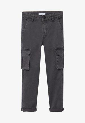 LIAM - Pantalon cargo - grijs