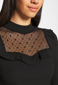 ONLY - ONLSOPHIA FLOUNCE - Long sleeved top - black - 4