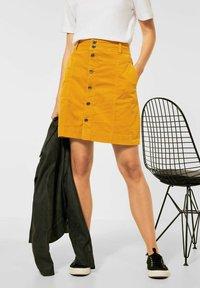 Street One - Mini skirt - gelb - 1