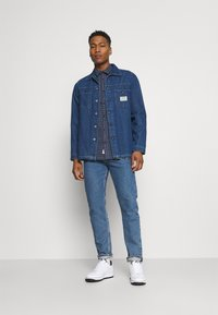 Only & Sons - ONSTONY LIFE CHECKED - Skjorta - dress blues - 1