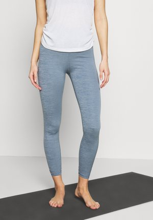 YOGA RUCHE 7/8 - Leggings - diffused blue/diffused blue