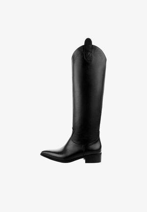 SAMBRASE - Vysoká obuv - czarny