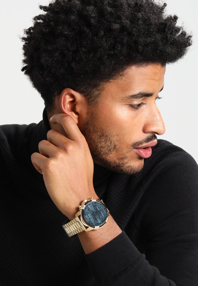 DieselON - FULL GUARD - Digital watch - gold-coloured
