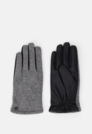 Gloves - black/grey
