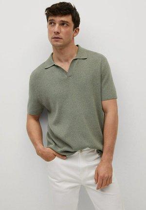 FLUIDE LIN - Poloshirt - khaki