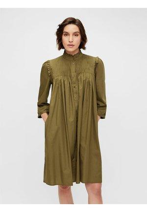 YASROBBIA - Shirt dress - military olive