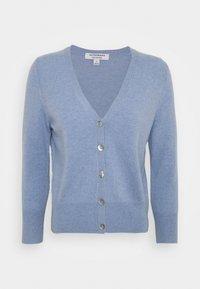 Marks & Spencer London - CASH CROP - Kardigan - light blue - 0