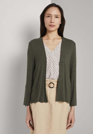 Cardigan - woodland green