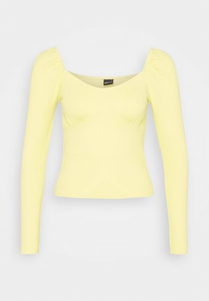 JENNIFER - Long sleeved top - mellow yellow