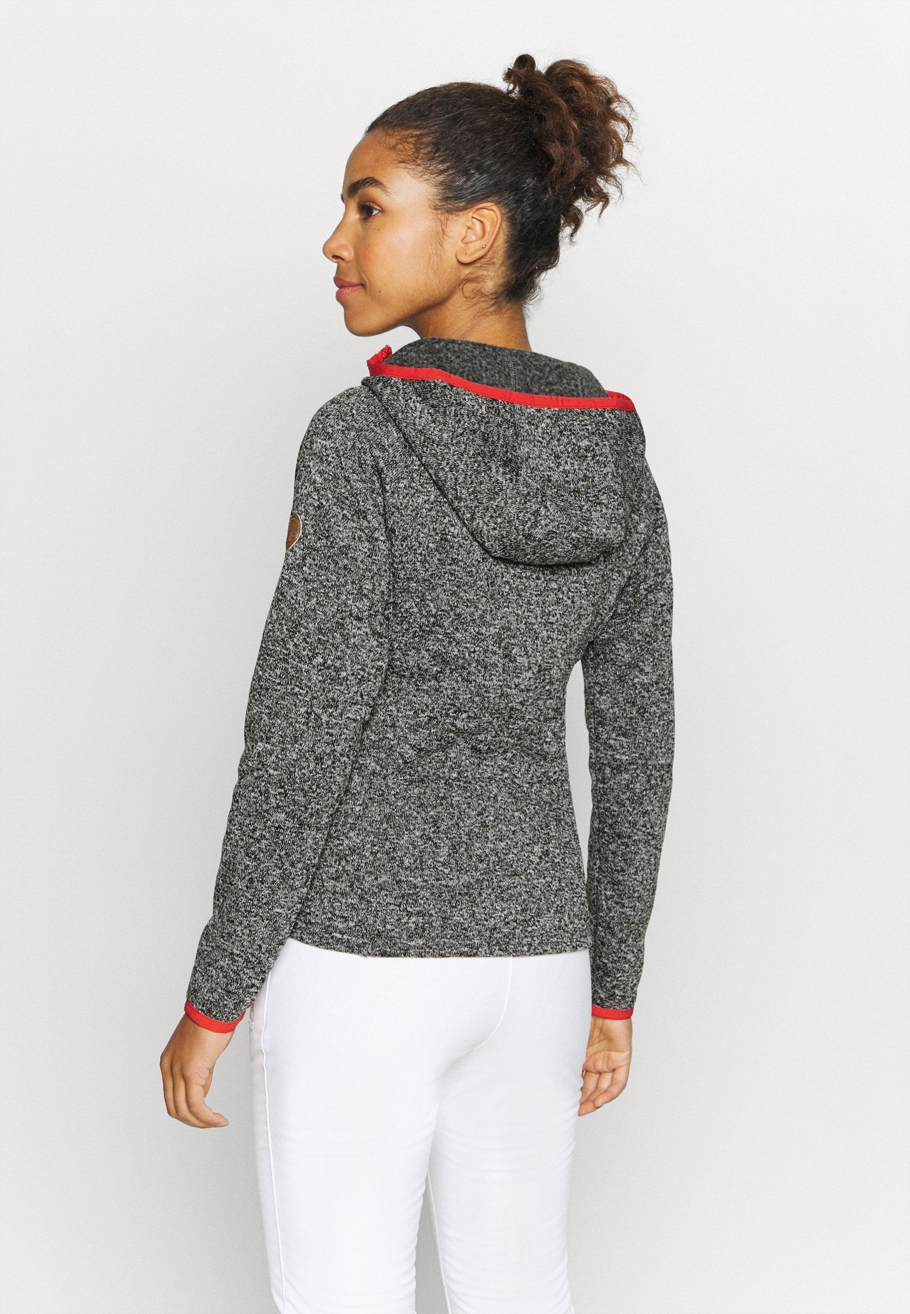 Icepeak APPLEBY - Fleece jacket - grey O1oAL