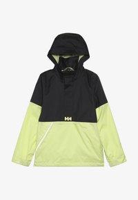 Helly Hansen - ACTIVE RAIN ANORAK - Waterproof jacket - ebony - 3