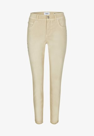 ORNELLA GLAMOUR - Slim fit jeans - sand