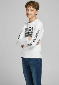 Jack & Jones Junior - Long sleeved top - white - 1