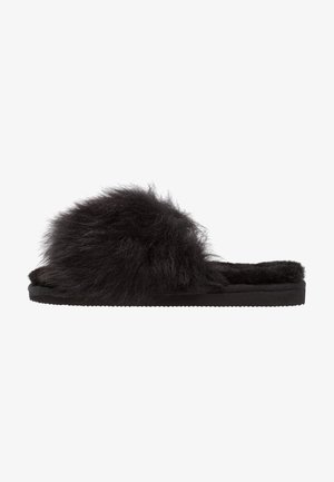 TESSAN - Slippers - black