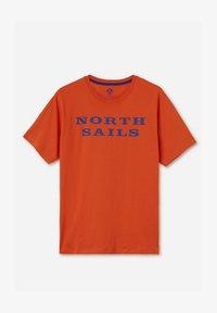 North Sails - T-shirt imprimé - red - 5