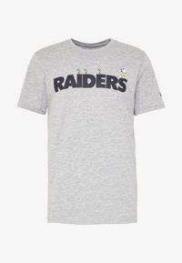 New Era - NFL SNOOPY TEE OAKLAND RAIDERS - T-shirts print - gray - 5