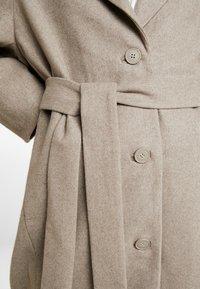 Weekday - VIVI COAT - Classic coat - mole - 6