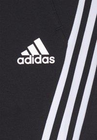 adidas Performance - 3S TAPE PANT - Tracksuit bottoms - black - 6